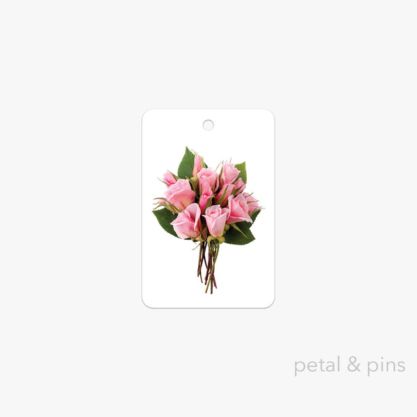 a posy for you gift tag by petal & pins