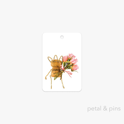 best wishes gift tag by petal & pins
