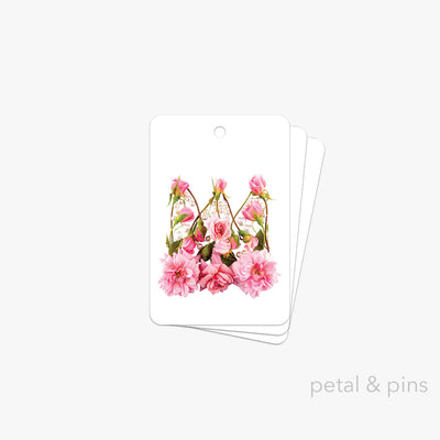 princess crown gift tag pack of 3 by petal & pins