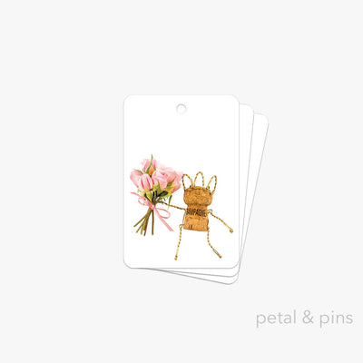 let's celebrate gift tag pack of 3 by petal & pins