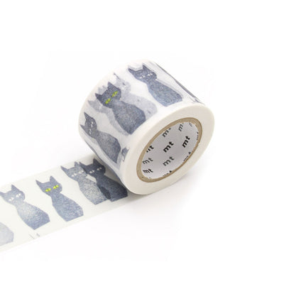 washi tape - mina perhonen black cats
