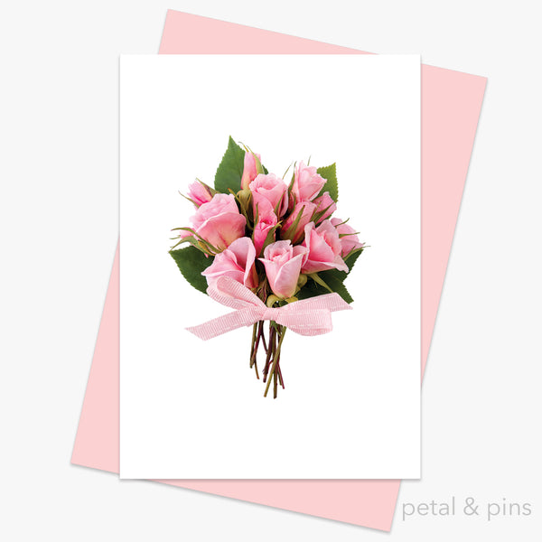 a posy for you card from the love letters collection by petal & pins