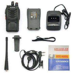 best walkie talkies Two Way Radio (Pack of 10) and USB Programming Cable (1PC)