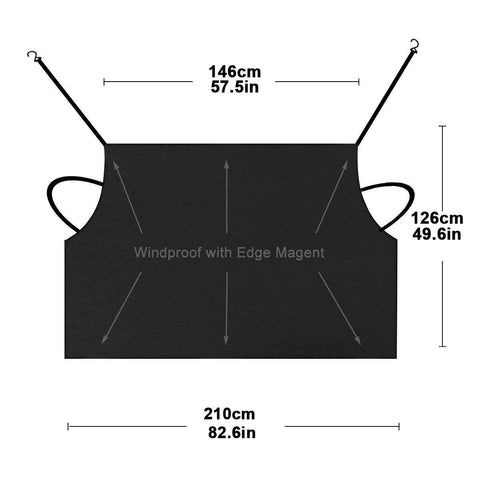 Image of Car Windscreen Cover Dust Protector Anti Snow Frost Ice Shield - AMAZOFFER