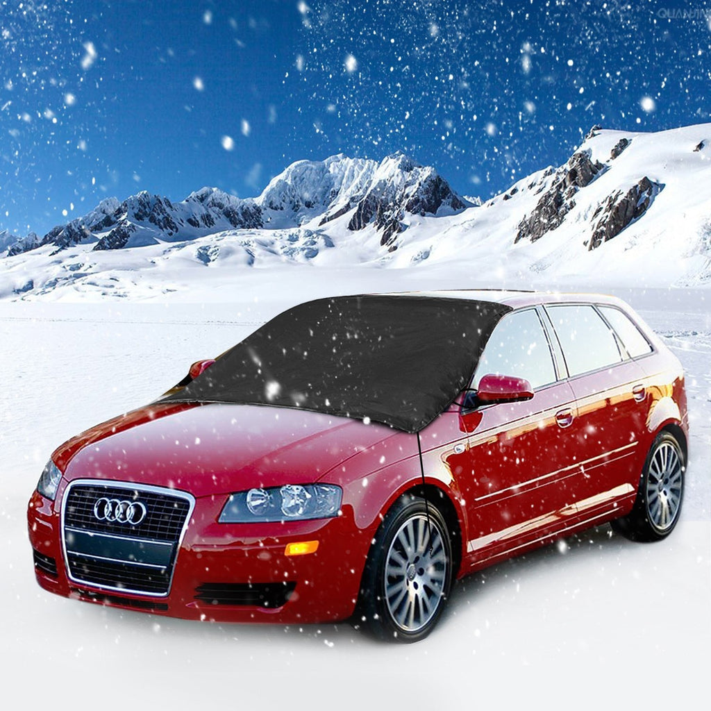 Car Windscreen Cover Dust Protector Anti Snow Frost Ice Shield - AMAZOFFER