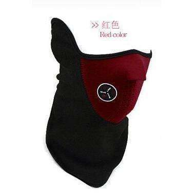 Sport Mask New Neck Warm Half Face Mask Windproof Winter Sport ride Bike Cycling mask - AMAZOFFER