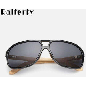 Vintage Mens Wood Sunglasses Brand Designer Bamboo Sun Glasses For Men