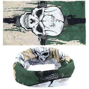 Hot Punk New 3 in1 Men Women Unisex Skull Hat Neck Warmer Tube