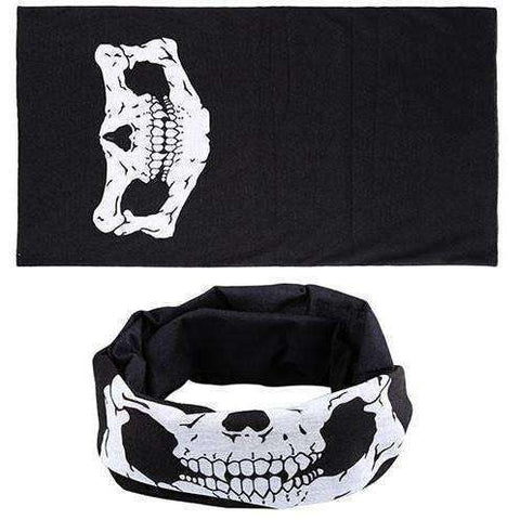 Hot Punk New 3 in1 Men Women Unisex Skull Hat Neck Warmer Tube - AMAZOFFER
