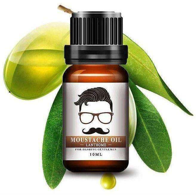 New Beard Growth oil beards hair Thicker Essence Mustache Thick - AMAZOFFER