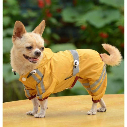 Fashion Pet Dog Clothes Rain Coat Jacket Clothes Dogs Waterproof - AMAZOFFER