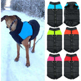 Pet Dog Puppy Vest Jacket Clothing Warm Winter clothes For Small Medium Large Dogs 4 Colors S-5XL - AMAZOFFER