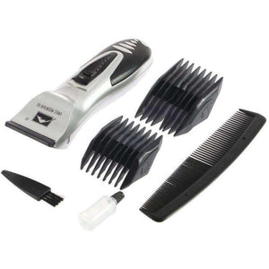 Hot Selling 1set Silver Hair Clipper Men Electric Body Groomer Hair Removal Shaver - AMAZOFFER