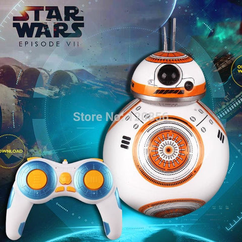 Image of Upgrade Star Wars RC BB-8 Robot Star Wars 2.4G remote control BB8 robot - AMAZOFFER