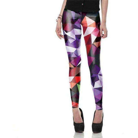 Image of NADANBAO wholelsales New Fashion Women leggings  3D Printed color legins - AMAZOFFER