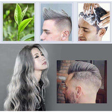 Hair Wax 120g Does Not Hair Hurt Silver Gray One-Time Hair Dye Fifty Degrees Grey Hair 7 Colors - AMAZOFFER