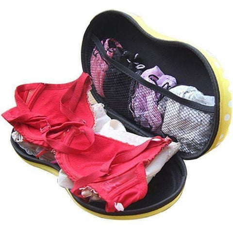 Image of Travel Mesh Underwear Bra Storage Box Lingerie Portable Protect Holder Home Organizer - AMAZOFFER
