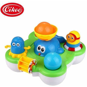 Baby Fountain Bath Toy for Children Douche Kids Electric Floating Spraying Water