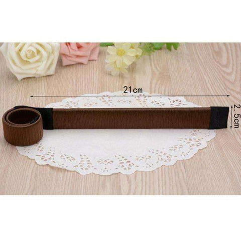 Image of Hair Accessories  Hair Bun Maker French Dish Made Hair Band - AMAZOFFER