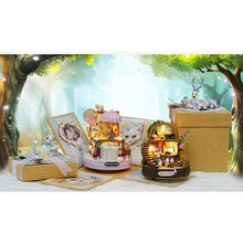 Resin Anime Cottages Music Box - AMAZOFFER