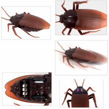 Funny Simulation Infrared RC Remote Control Scary Creepy Insect Cockroach Toys - AMAZOFFER
