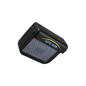 Auto Fan Solar Power Car Window Fan Cooler - AMAZOFFER