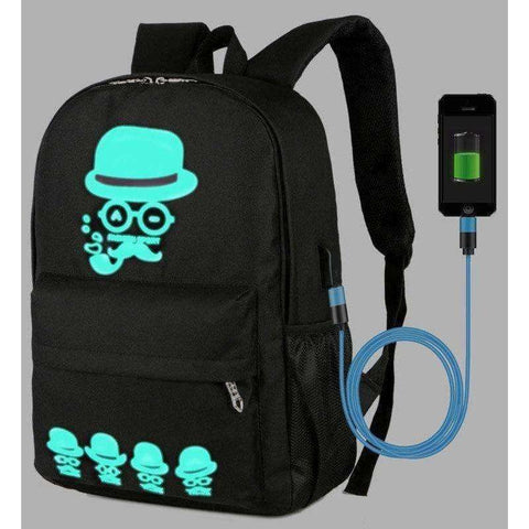 Boys School Backpack Student USB Charge Changeover Joint School Bags For Teenager Computer Bag - AMAZOFFER