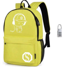 Anti theft Laptop School Backpack  For Teenager USB Charge Computer Backpack USB Charge - AMAZOFFER