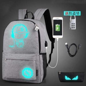 Anti theft Laptop School Backpack  For Teenager USB Charge Computer Backpack USB Charge