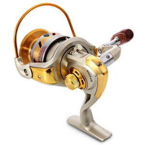 Metal Spinning Fishing Reels Fly Wheel For Fresh/ Salt Water Fishing Tool Accessories
