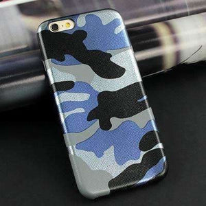 Clespruce Army Camo Camouflage Leather Back Cover Case For iphone x 8 7 6 6s Plus 5s SE Fundas Luxucy Phone Case For iphone X 8 Plus