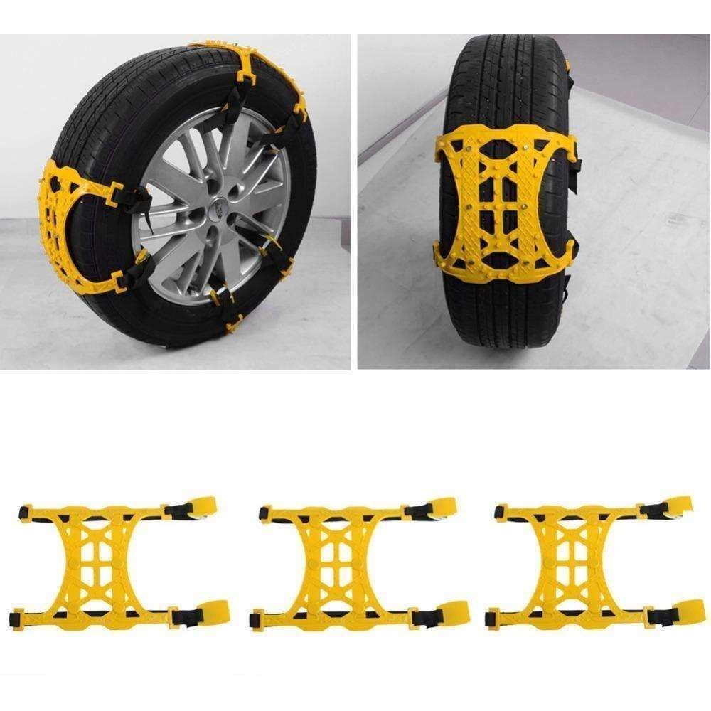 New 1PC Winter Truck Car Snow Chain Tire Anti-skid Belt Easy Installation - AMAZOFFER