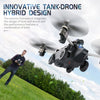 Innovative TANK-DRON Hybrid Design with 720p camera - AMAZOFFER