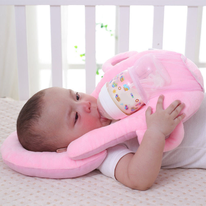 Portable breastfeeding pillow baby nursing pillow pregnant infant case breast feeding cover memory pillow head support neck - AMAZOFFER