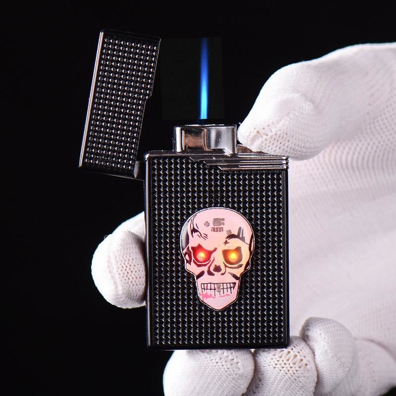 Creative Luminous Skull Head Cigarette Lighter - AMAZOFFER