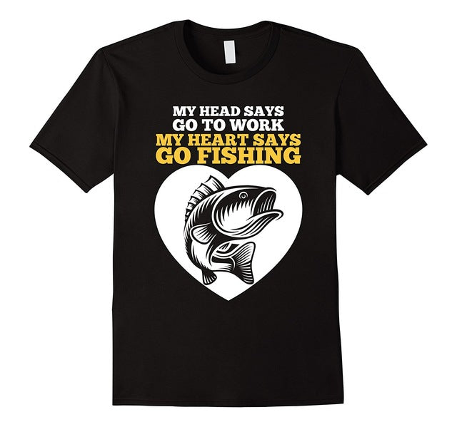 Fisherman Quotes Father's Day Gift T Shirts - AMAZOFFER