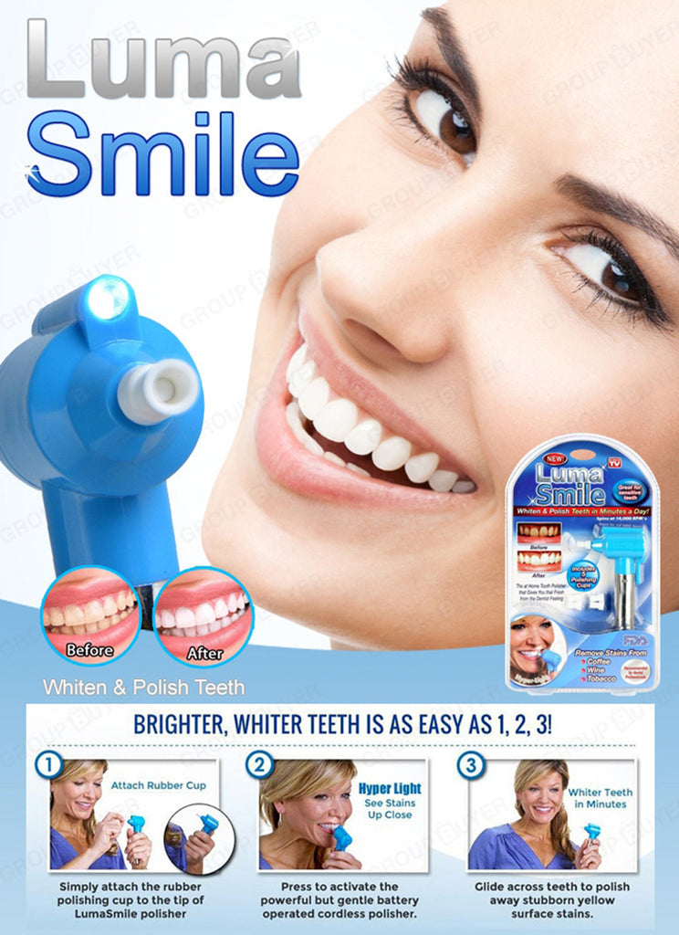 Teeth Whitening Device Tooth Health Care Tool - AMAZOFFER