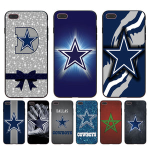 Cowboys Glitter Luxury Quality Phone accessories Case for Apple iPhone 8 7 6 6S Plus X 5 5S SE 5C case cover - AMAZOFFER