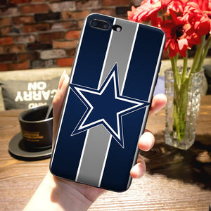 Cowboys Glitter Luxury Quality Phone accessories Case for Apple iPhone 8 7 6 6S Plus X 5 5S SE 5C case cover