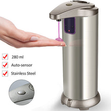 Automatic Soap Dispenser Shower Stainless Steel Sensor 280 ml - AMAZOFFER