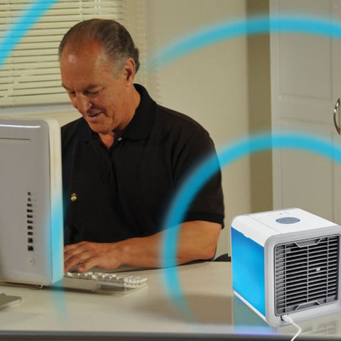 Image of Air Cooler  Personal Space Cooler The Quick & Easy Way to Cool Any Space - AMAZOFFER