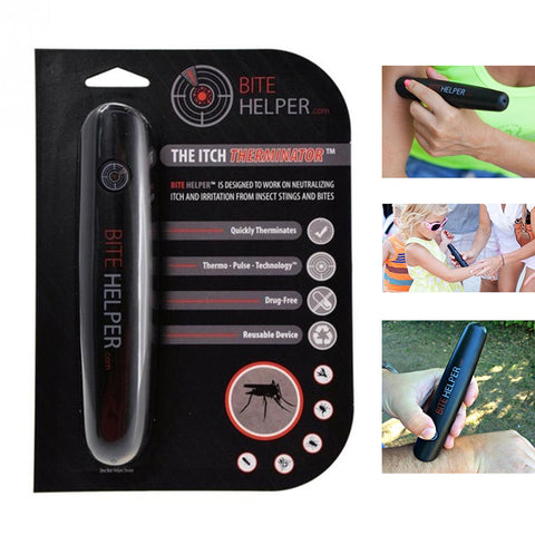 Image of New Mosquito Itch Reliever Bite Helper Itching Relief Pen For Child Adult Face Body Massager Mosquito Relief Pen - AMAZOFFER