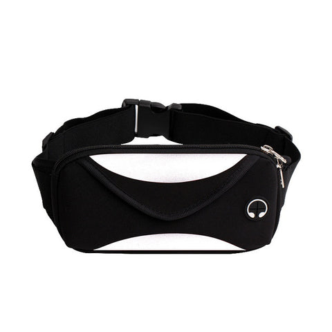 Fashion men waist pack waist bag unisex waterproof fanny pack women belt bum bag male phone wallet Pouch Bags - AMAZOFFER