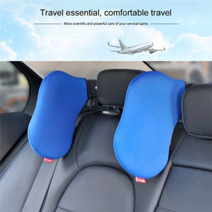 Auto Car Seat Headrest Car Neck Pillow Neck Safety Seat Support Travel Neck Rest Seat Headrest Cushion Pad Car accessories XNC - AMAZOFFER