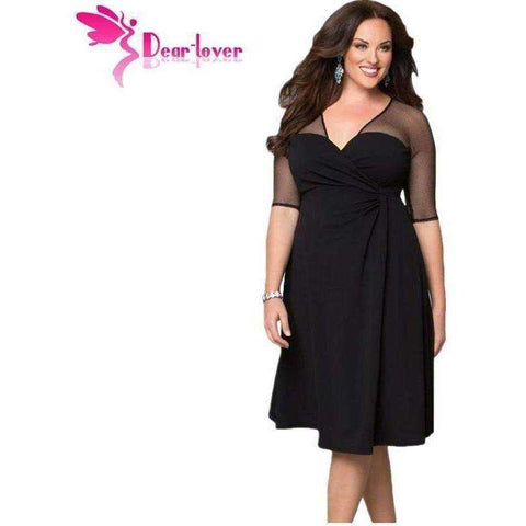 Dear Lover Plus Size XXL Women Fashion Half Sleeve Work - AMAZOFFER