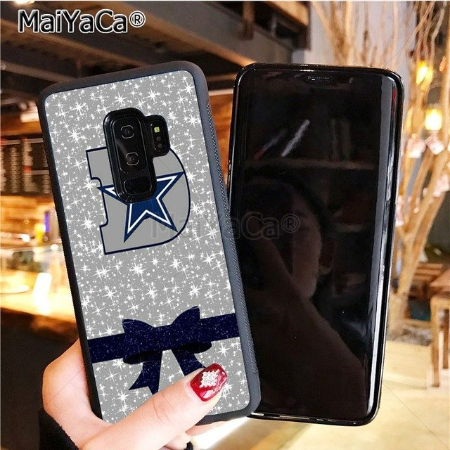 Cowboys Glitter soft tpu phone case cover for samsung galaxy s8plus s9plus s7 s6 edge plus s5 case - AMAZOFFER