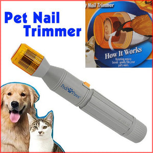Pet Dog Cat Nail Trimmer Grooming Tool Care
