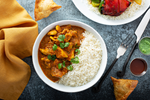 Curry Chicken Meal - aklabaity delivers best home made food