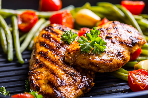 Half kilo grilled chicken breasts - aklabaity delivers best home made food