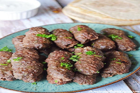Kilo Grilled minced beef Kofta - aklabaity delivers best home made food